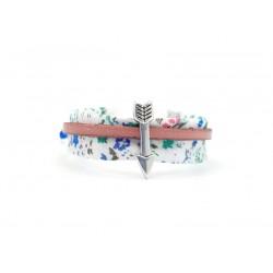 Bracelet ajustable fillette motif abstrait 035