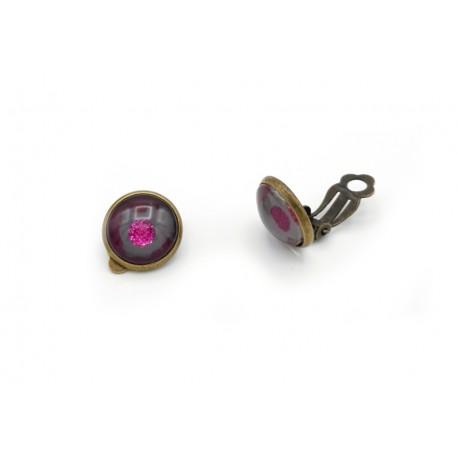 Boucles d'oreille clips 12