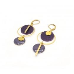 Boucles d'oreille asymétriques pour femme 186