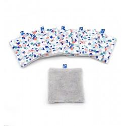Lingettes démaquillantes lavables 24