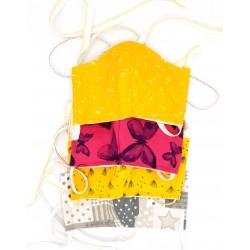 Commande réservée Babeth M : masques alternatifs