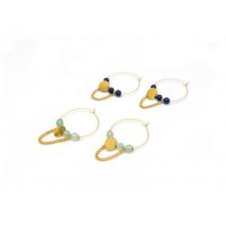 Boucles d'oreille créoles pour femme 422